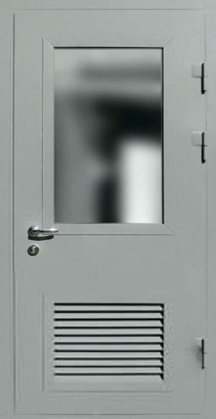 дверь стальная в котельную