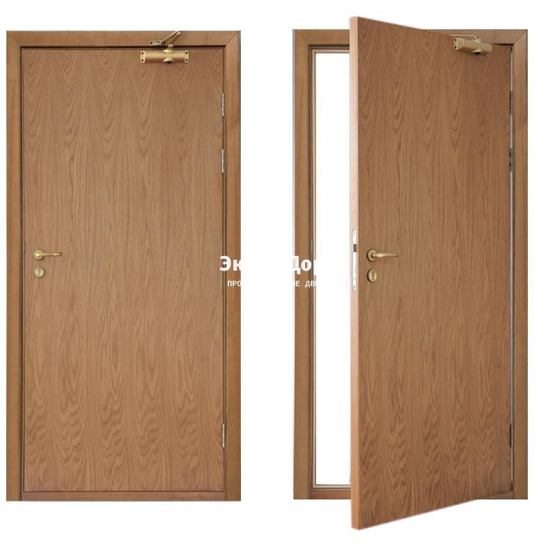 Автоматические двери одностворчатая