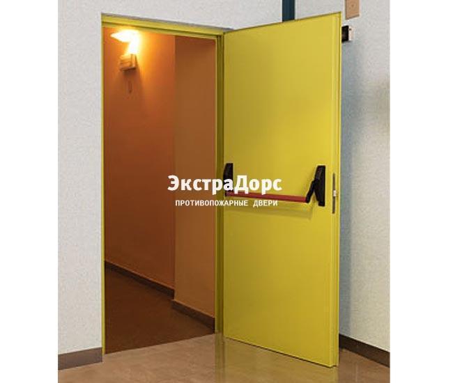 металлические противопожарные технические двери