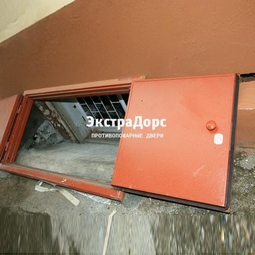 сдвижной люк в подвал