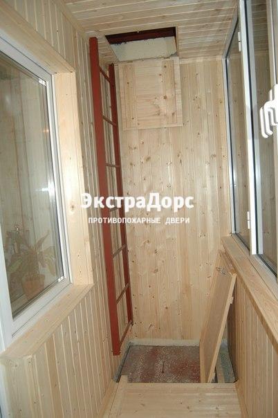 Дизайн для балконов с пожарной лестницей.